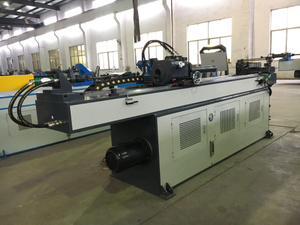 Simple 3 Roller Tube Bending Machine GM-38CNC-2A-1S